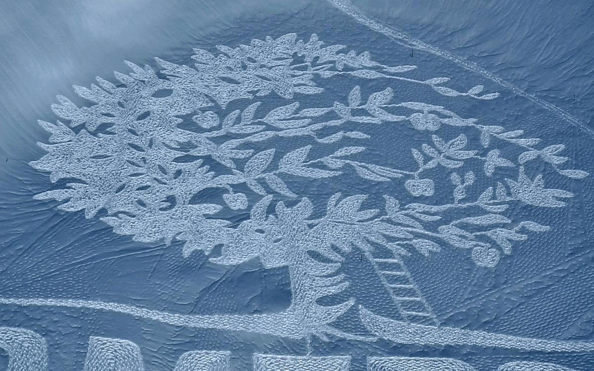 snow-art-tree