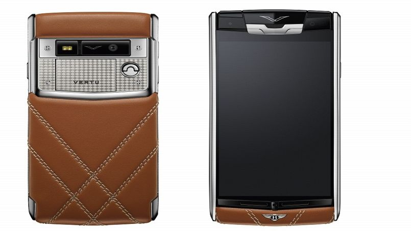 Signature Touch Vertu for Bentley