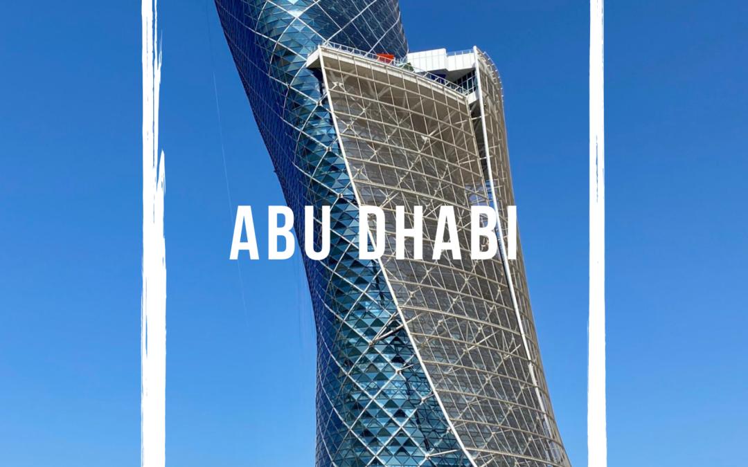 10 bonnes raisons de se rendre à Abu Dhabi