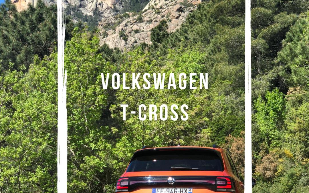 Essai du nouveau T-Cross autour de Porto-Vecchio
