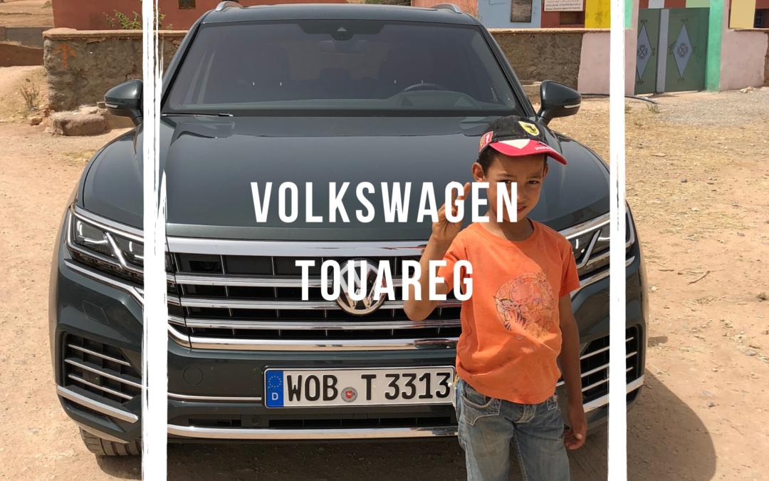 Sur les pistes marocaines en Touareg
