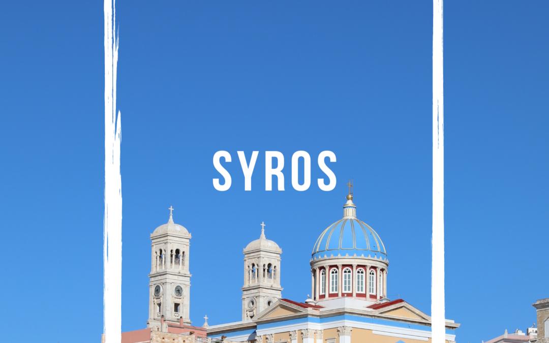 6 bonnes raisons de découvrir l'île de Syros